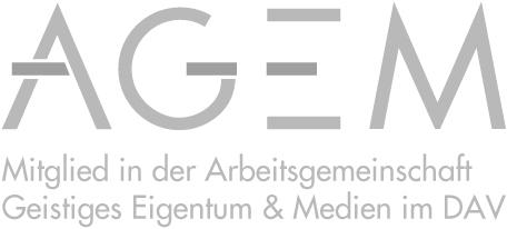 Mitglied in der Arbeitsgemeinschaft Geistiges Eigentum & Medien im DAV